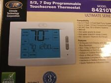 7 Day Touchscreen Programmable Thermostat 4H/2C 4 3 Heat 2 Cool - CTC 84210T 5/2