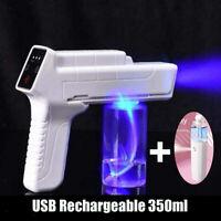Rechargeable Nano Sanitizer Sprayer Disinfectant Fogger Spray Gun 350ml