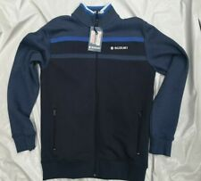 SUZUKI TEAM BLUE SWEAT JACKET LARGE GSX1400 GSX1300 GSX1250 GSF1200 GSF650
