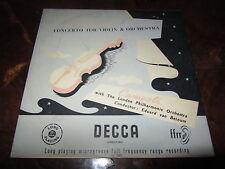 CAMPOLI MENDELSSOHN CONCERTO VIOLIN 1953 DECCA LX 3001 1ED NO SXL MINT UNPLAYED