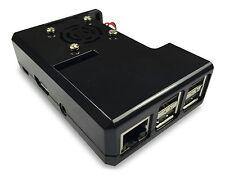 Gorillapi Raspberry Pi 3 & Raspberry Pi 2 Custodia Modello B (e B +) e ventola di raffreddamento