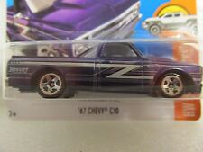 HOT WHEELS 2017 158/365  HOT TRUCKS 5/10 '67 CHEVY C10 NEW ON CARD