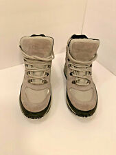 LL Bean Womans 9 M Thinsulate Sherpa Lined Hiking Boots Winter Fall
