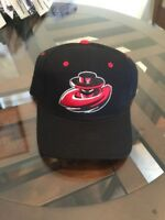 NEW NWT Texas Tech Red Raiders NCAA Football Hat 7 Zephyr Black Retro Rare Cap