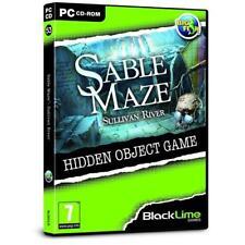 Sable Maze Sullivan River Hidden Object Game - PC DVD - New & Sealed