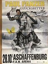 PAUL PANZER  2018 ASCHAFFENBURG- orig.Concert Poster - Konzert Plakat A1 F/NEU