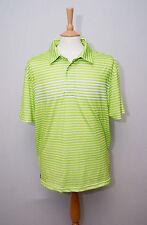 "Tommy Hilfiger Golf short sleeve lime green sports polo shirt XL 44"" 112cm"