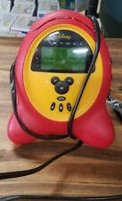 Disney Mickey Mouse Model DCR5000-C AM/FM Digital Clock Radio with Alarm. Works