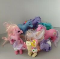 9 Vintage My Little Pony MLP Bootleg KO Baby & More Unbranded Made in China