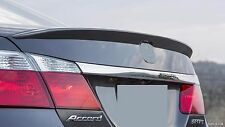 REAR TRUNK LIP SPOILER ABS FOR HONDA ACCORD 2013-2015 4D Unpainted