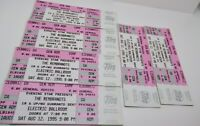 The Rembrandts  Aug 12, 1995 Ticket LOT (6 Unused) Electric Ballroom Tempe, AZ