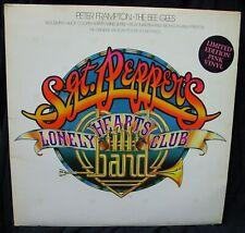 SGT PEPPER'S SOUNDTRACK 2 LP LTD. EDITION PINK VINYL FRAMPTON, BEE GEES, AEROSM