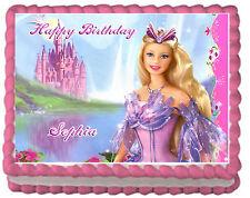 Barbie Premium Frosting Sheet Edible Cake Topper