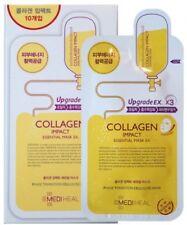 Mediheal Collagen Impact Essential Korean Face Sheet Mask Ex, Pack of 10