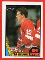 1987-88 O-Pee-Chee #56 Steve Yzerman NEAR MINT+ Detroit Red Wings FREE SHIP