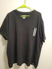 Men's WT-02 V-Neck Black Size 3XL  A03-09