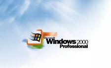 Windows 2000 Professional SP4 FULL Repair/Reinstall Disk 📮 FAST Royal Mail 📮