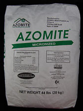 Azomite Organic Trace Mineral Soil Additive Fertilizer-OMRI Certified-44 pounds