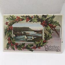 Vintage Postcard Christmas 1915 December Portland Oregon