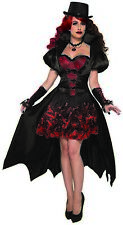 Immortal Princess Womens Adult Gothic Vampire Halloween Costume