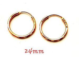 18 k Gold Plated Jewellery Small Baby Girls Hoops Earrings KAPA JEWELLERY