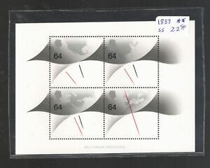 1999 Great Britain  SCOTT #1889 MILLENIUM TIMEKEEPER MNH Souvenir Sheet