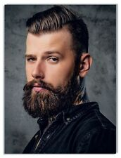 2 Poster Plakat Beauty Friseursalon Friseur A 3 Kosmetik Beauty man Mann