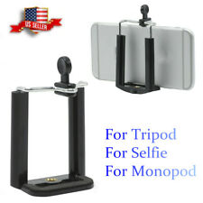 NEW Cell Phone Bracket Holder for Camera Stand Clip Monopod Tripod Mount Adapter