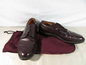 Men's Allen Edmonds MacNeil Brown Wingtip Dress Shoes