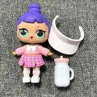 2Pcs Lol Surprise Dolls Glam Glitter Curious QT /& Rip Tide with outfit collect