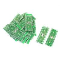 10Pcs Dual Sides QFN32 QFN40 to DIP PCB Board Adapter Plate Converter