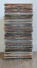 "INSTANT STARTER RECORD COLLECTION 20 X 7"" VINYL RECORDS ALL 80s PLAIN SLEEVES"