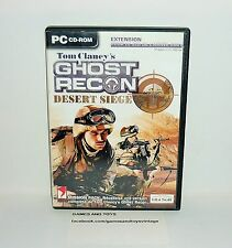 JEU PC COMPLET GHOST RECON DESERT SIÈGE