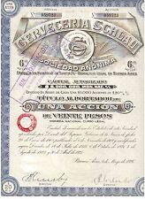Cerveceria Schlau  1926 Buenos Aires   Brauerei