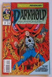 Darkhold Pages from the Book of Sins #10 1993 Marvel Comic Book Horror 6208
