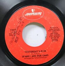 Rock 45 Spanky And Our Gang - Yesterday'S Rain / Without Rhyme Or Reason On Merc