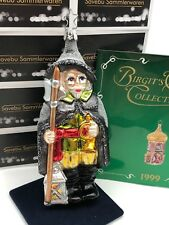 Inge Glas Birgits Christmas Collection Nachtwächter 17 cm. Christbaumschmuck