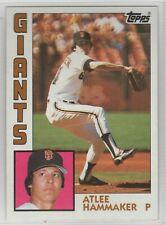 1984 Topps Baseball San Francisco Giants Complete Team Set