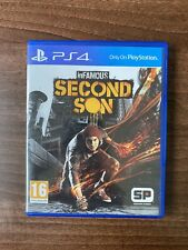 Infamous second son-PS4 Immaculée (voir photos) COMPLET ** FAST POST **