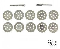 10Pc 22Mm Dremel Diamond Cutting Disc For Dremel Rotary Tools Accessories
