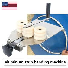 Manual Hollow Aluminum Strip Bending Machine & 2 mold (6-16mm, 9-12mm) Newest Us