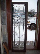 "Beveled glass window 65"" x 20 1/2""    (SG 1540)"