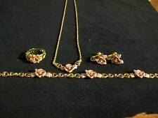 Rose of Love  Collection Jewerly Set - Franklin Mint