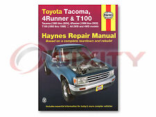 Toyota Tacoma Haynes Repair Manual S-Runner Limited Pre Base SR5 DLX Shop xt