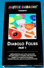 VHS MISTER BABACHE Diabolo Folies Part 1 JUGGLING
