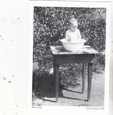 """""""Bath Time""""-/Wash Pan for Babies/ -1920's- *Pigeon Forge, TN  /Post Card/ (#124)"""