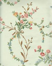 Historic Reproduction Wallpaper French Floral c1850