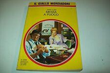 IL GIALLO MONDADORI-N. 2232-JOHN LUTZ-MESSA A FUOCO-10 NOVEMBRE 1991-BUONISSIMO!