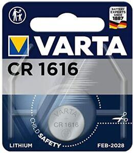 VARTA CR1616 3V Lithium Battery - BRAND NEW AND SEALED!