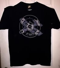 BENNY GOLD Shirt XL Target Plane SF Practice Makes Perfect Design OOP RARE HTF
